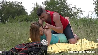 Bottomless gulf profundity outdoor romance for this fresh 18 teen