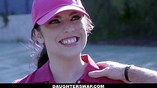 Swapping daughters - Teen Tennis Stars Ride Stepdads Weasel words - Pornstar
