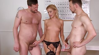 Anal hustler fucks with the doctors in wild trilogy